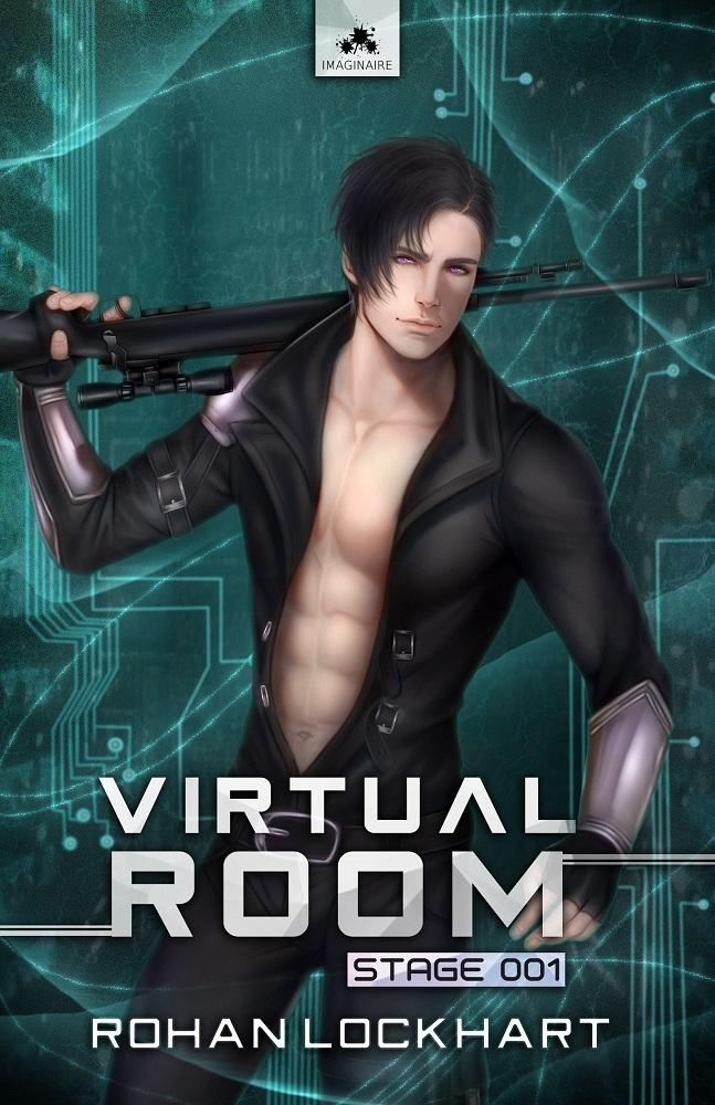 """Résultat de recherche d'images pour """"Virtual room - Tome 1 : Stage 001 écrit par Rohan Lockhart"""""""